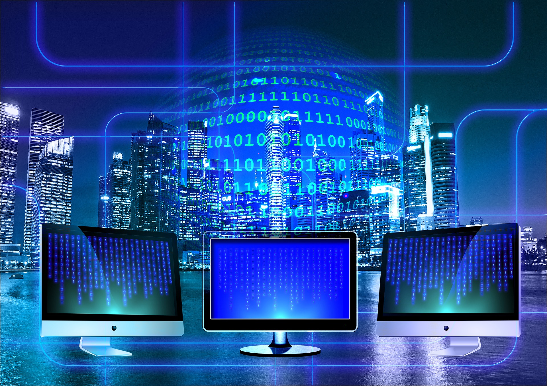monitores com sistemas binarios