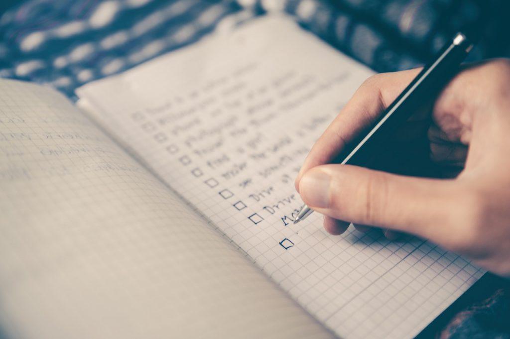 checklist operacional